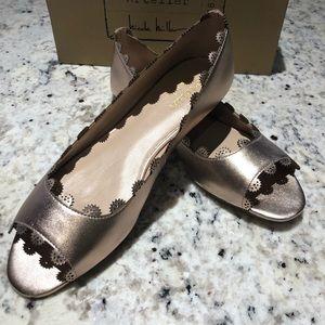 Nicole Miller Artelier |Tampa Metallic Pink Shoes